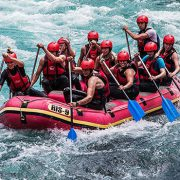Teamevent Wildwasserrafting